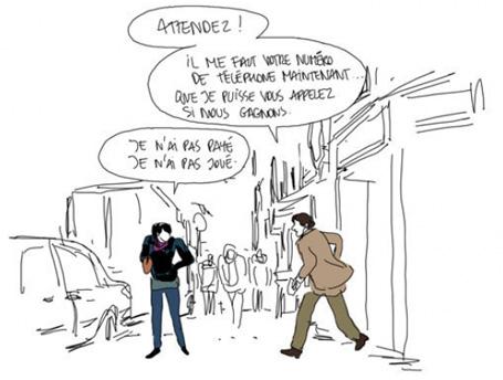 Les autres gens par Bastien Vivès.
